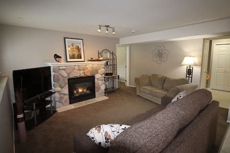 Upscale, clean, quiet, self contained 2 Br suite. - Langley