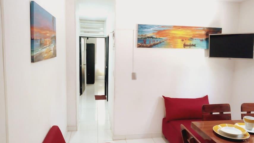 Apartamento 202 Santa Marta cerca playa los cocos