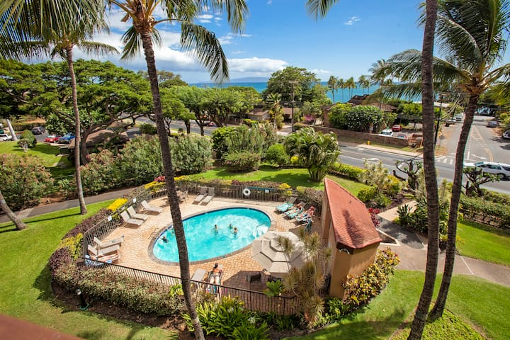 Maui Vista #1-206 Close to Beach, Great Tennis Courts, Great Rates, Sleeps 4