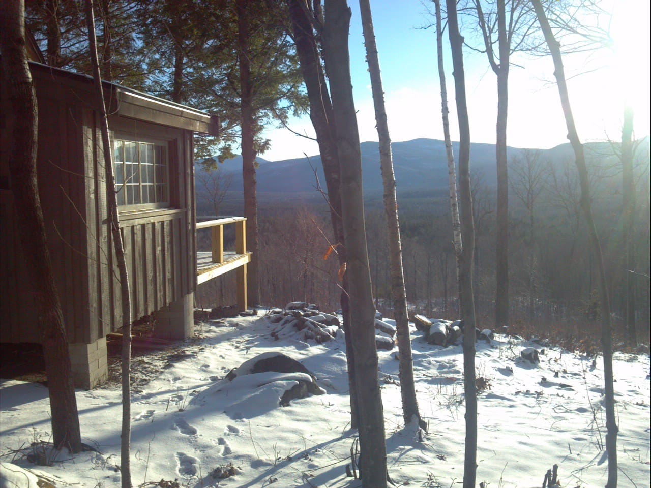 Your cabin and view