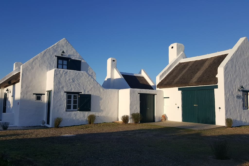 Traditional Cape Fisherman's building architecture