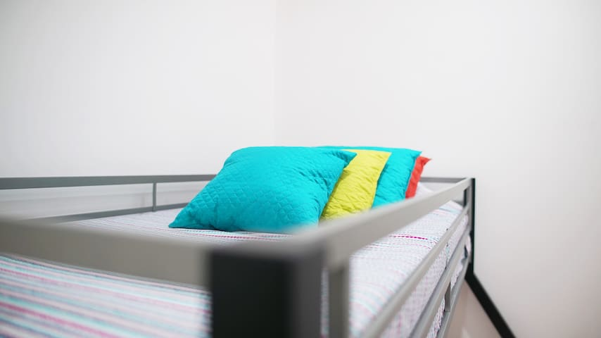 Third room with beds