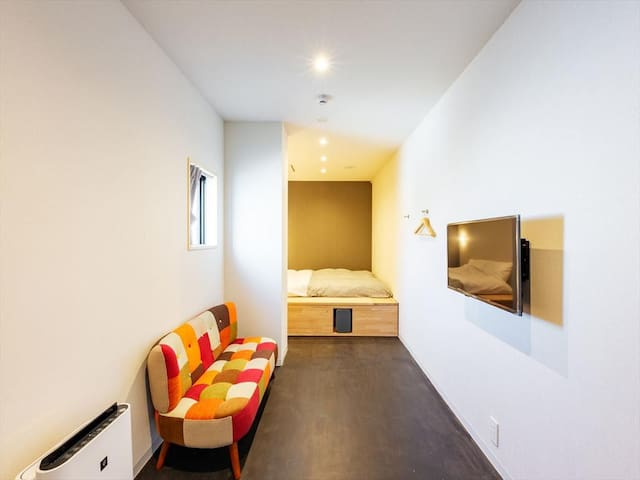 &AND HOSTEL MINOWA Deluxe Double Room