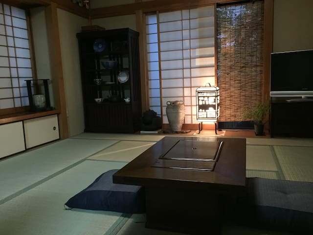 Very quiet Japanese style Tatami rooms. - Koganei-shi - Other