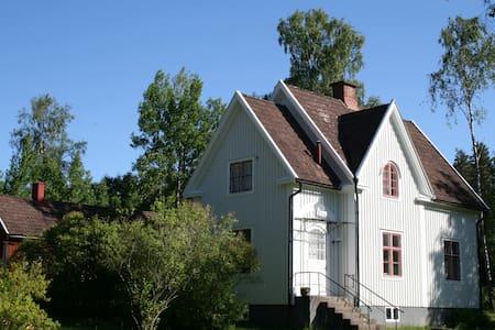 The White House, Alstermo in Småland, Sweden - Uppvidinge S