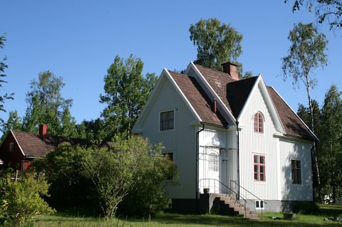 The White House, Alstermo in Småland, Sweden