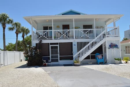 The Mermaid House On the beach !  - Manasota Key