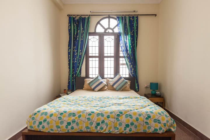 Bedroom in Boutique Villa, Koramangala, BLR - Bangalore - Huis