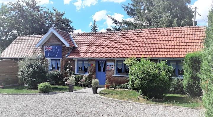 Cottage Somme Where*** au cœur du Val de Somme