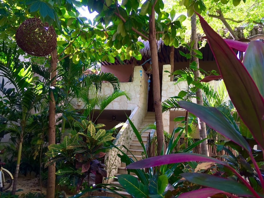 Surrounded by a Mayan Garden and Located in the Best Location in the Heart of Tulum