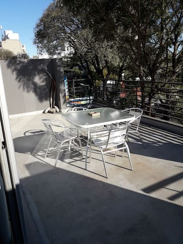 Monoambiente con terraza pleno Soho