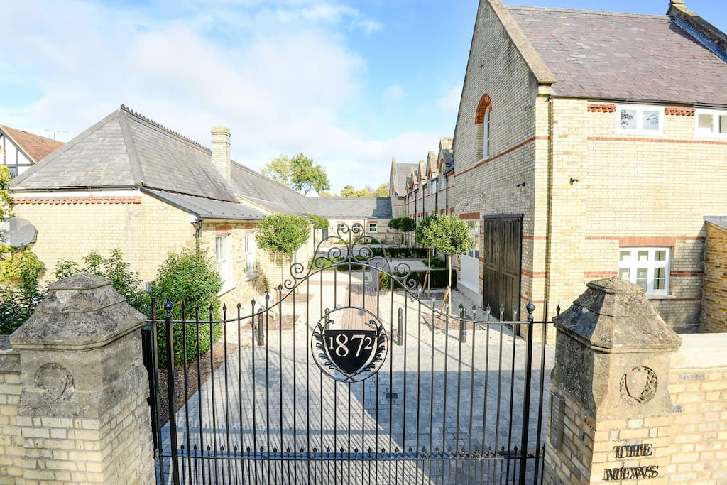 Built in 1872 this Mews was formerly owned by Baroness Cheylesmore and has been lovingly restored to offer contemporary, luxurious living space overlooking a beautiful gated courtyard with adjacent secure parking and gardens.