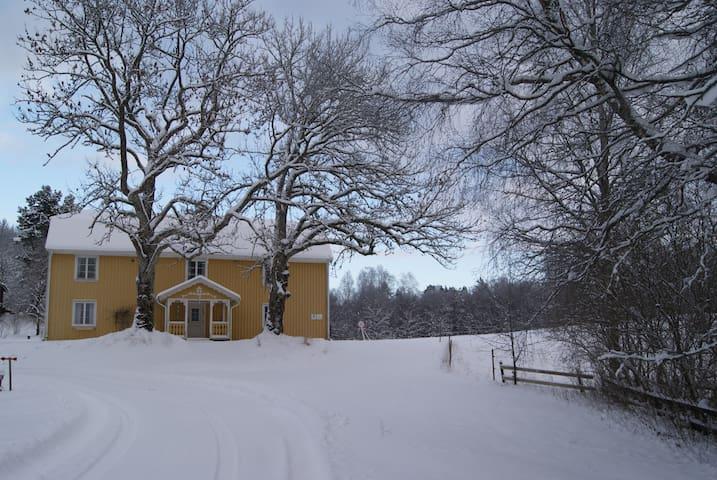 Vinter på Backa Loge