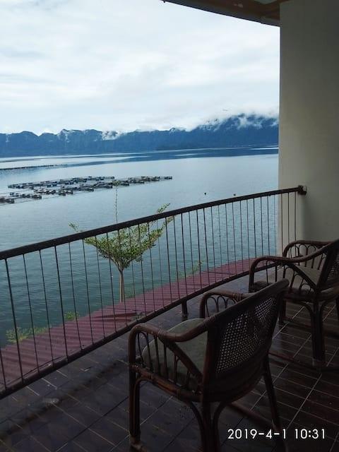 Dormitory at Lake Maninjau