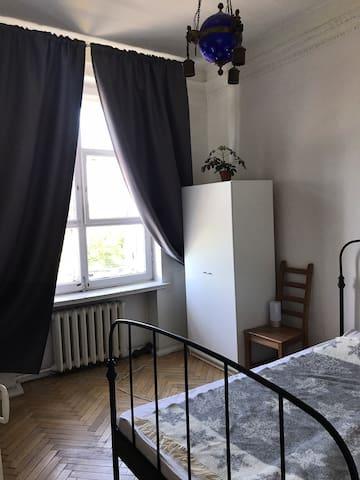 Cozy room in a vintage apartment