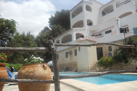 Apart. con piscina, a 50 m playa - Cala Galdana - Appartement
