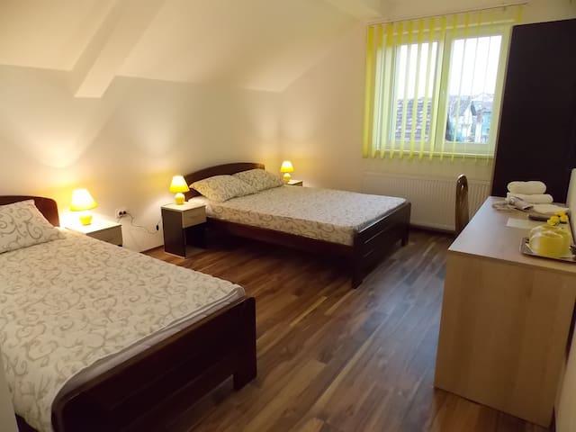 Vila Kety-trokrevetna soba sa sopstvenim kupatilom