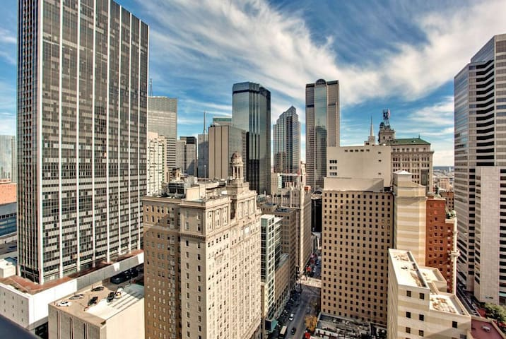 Heart Of Downtown Dallas Luxury High Rise Loft