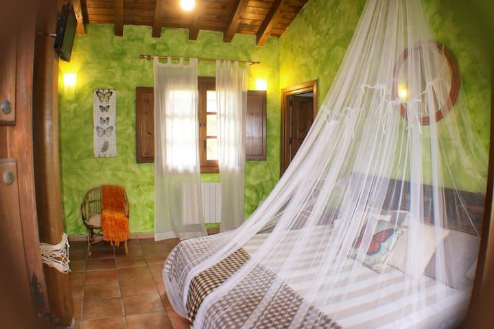 Habitación privada cuadruple en Casa Rural