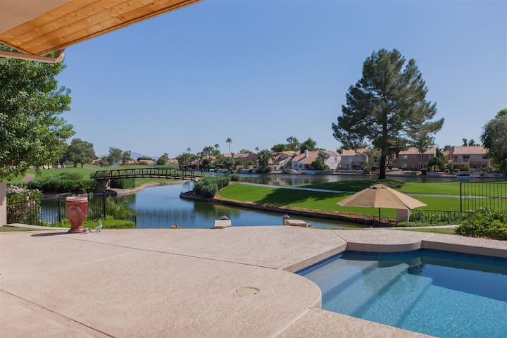4BR Ocotillo Home, On the Lake and Golf Course, Pool Heater