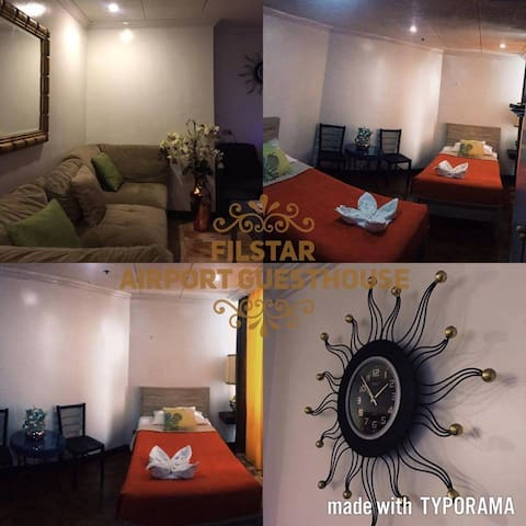FILSTAR AIRPORT GUESTHOUSE FREE CAR - Parañaque - Bed & Breakfast