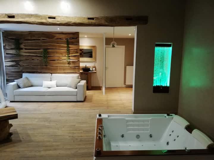 chambre d'hôtes les bruyères avec jacuzzi privatif