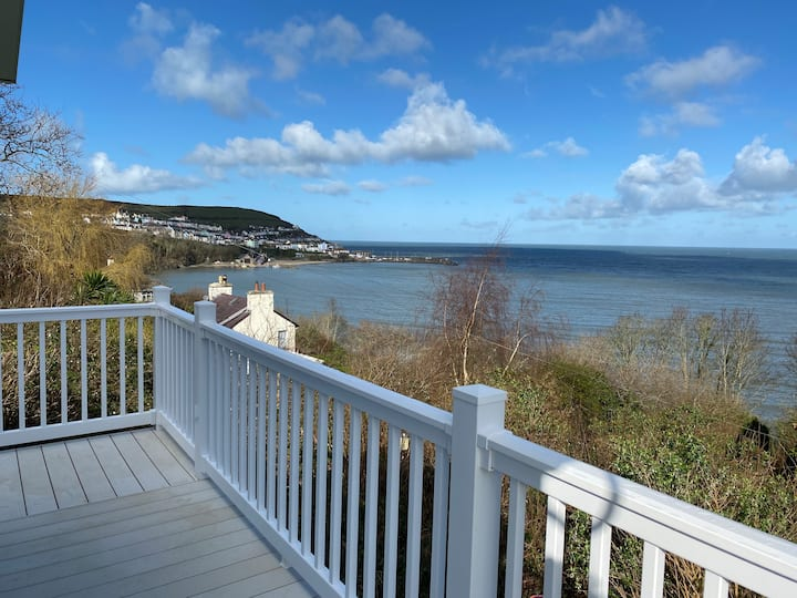 Stunning Panoramic Sea Views - New Quay Wales