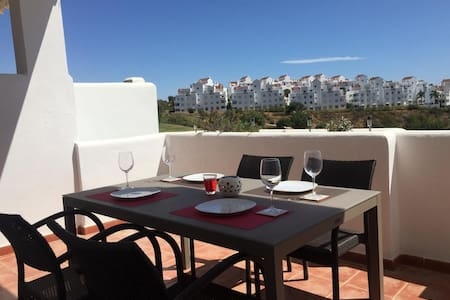 Beautiful Front Line Golf Apartment, Estepona.
