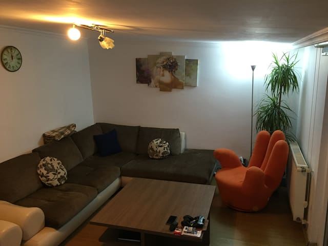 5 mins walk to Subway, Amazing Wiev - Şişli - Loft