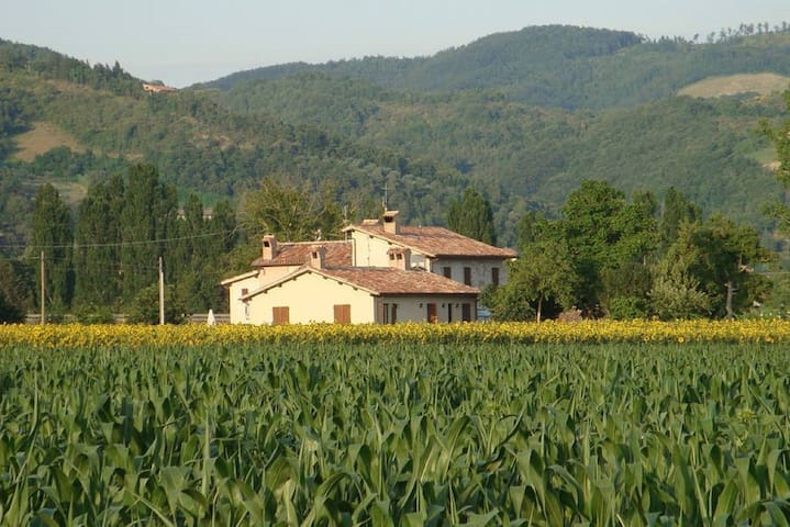 B&b Fontecese - only 5 minutes away from Gubbio historic city center,