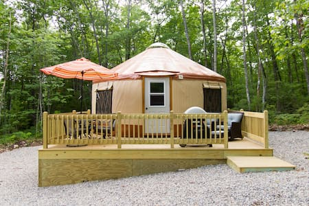 Fire Fly Yurts on Funky Bow Lane - Lyman - Iurta