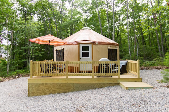 Fire Fly Yurts on Funky Bow Lane