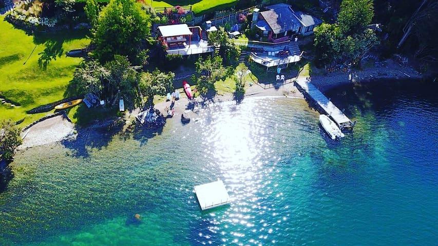Amazing Lake Cabin Quetrihue Bariloche