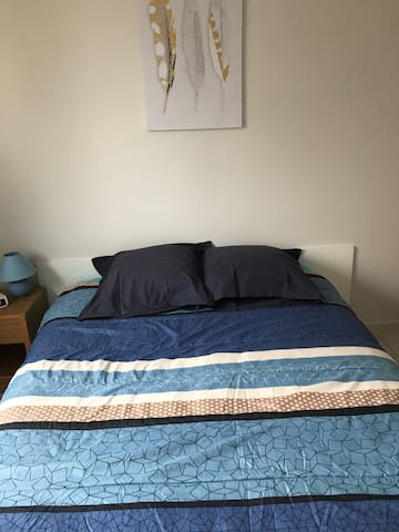 Chambre individuelle dans maison récente