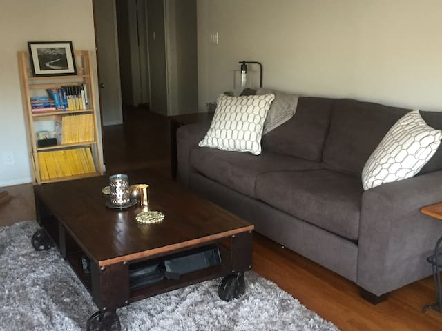 Bright and Spacious Lower 2BD Flat Inner Sunset