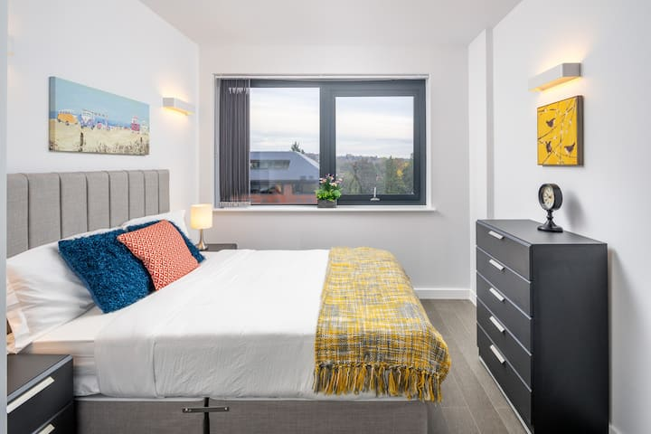 Elegant 1 bed flat near St Albans Market