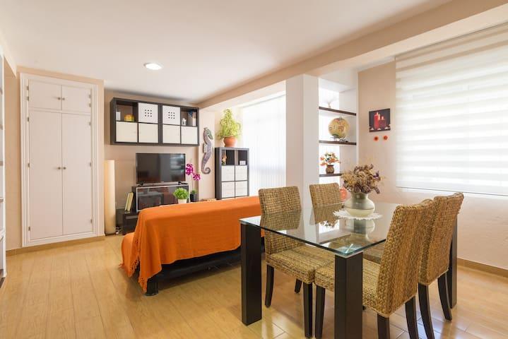 Bonito y moderno piso en Málaga
