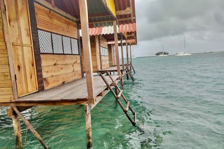 Newly built San Blas Over-Water cabins
