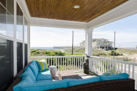 Home by the C - Amazing oceanfront duplex! - Wrightsville Beach - Stadswoning