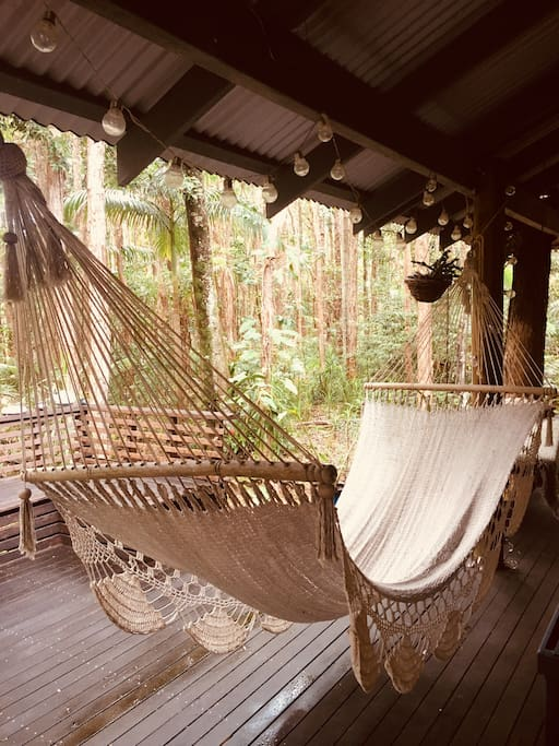 "According to our guests, ""this hammock is the one!"""