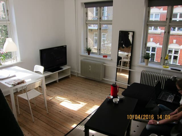 Sunny apartment in center - Aarhus - Apartemen