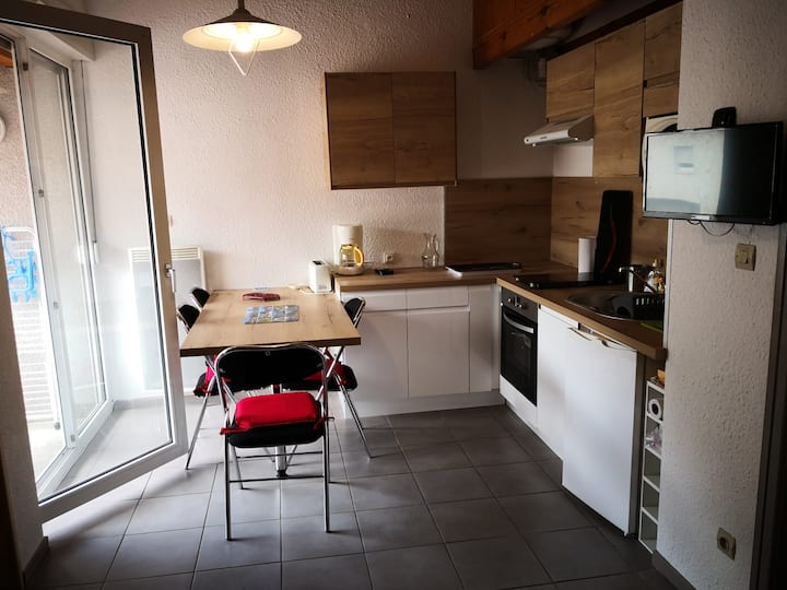 Appartement centre Ax-les-thermes