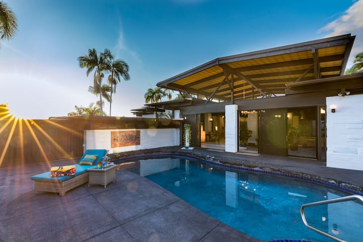 Ocean view, Private home, Pool, Indoor-outdoor, Private retreat, Ono Oasis