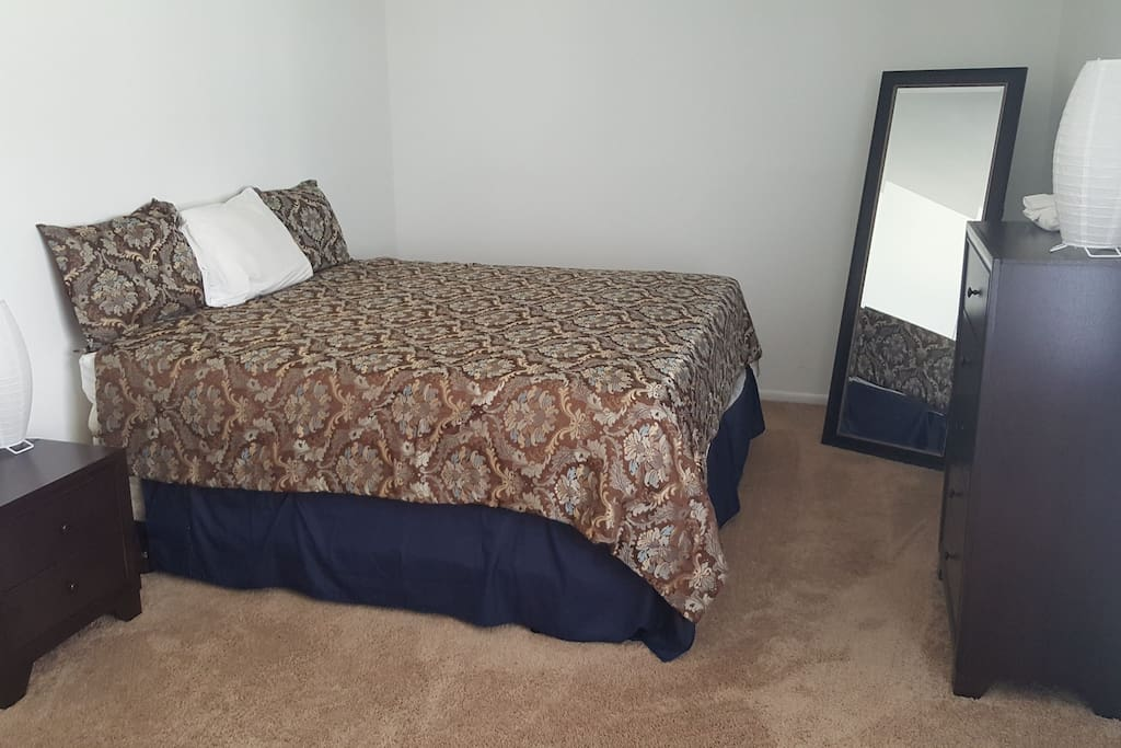 large one bedroom with king size bed