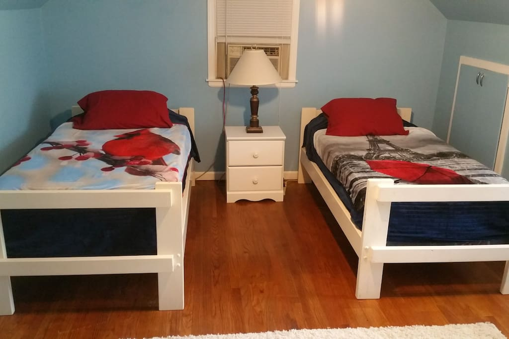Your twin beds