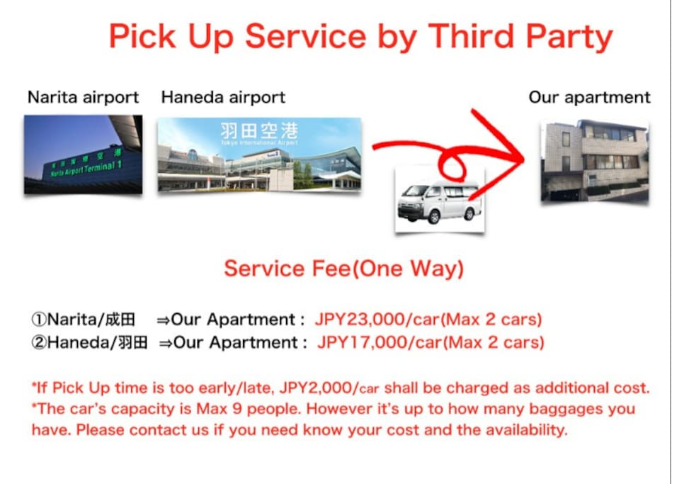 Pick Up Service by Third Party