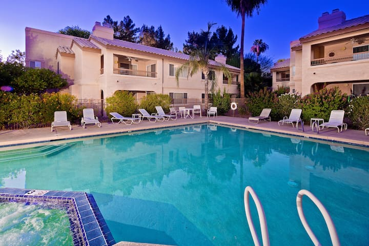 Unbeatable Location, Heated Pool, Spa, and More!