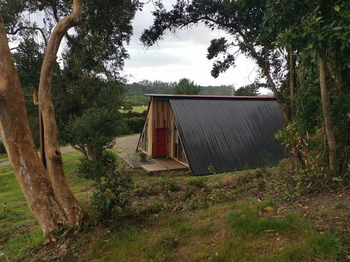Cabaña en entorno natural, para 2 a 3 personas.