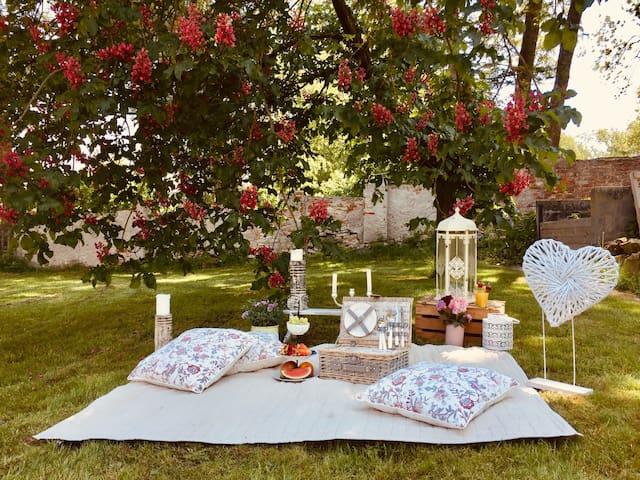 Romantischer Gutshof mit einem Hauch von Luxus