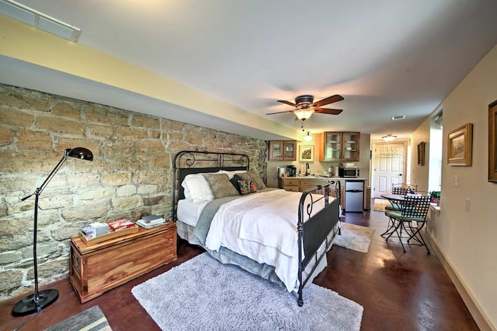 Augusta Studio at Halcyon Spa Bed & Breakfast